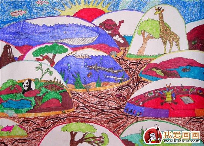 优秀科幻画作品图片欣赏:野生动物园幻想曲