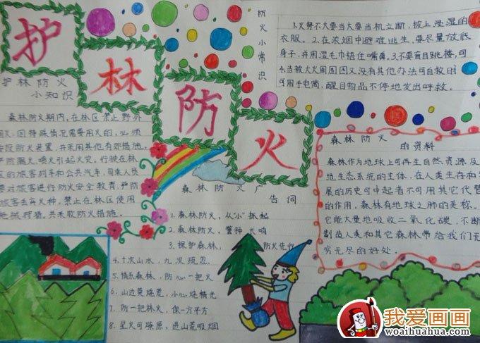小学生安全知识8k手抄报版面设计图(4)