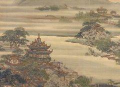 清代画家袁耀的工笔山水界画(9副)欣赏