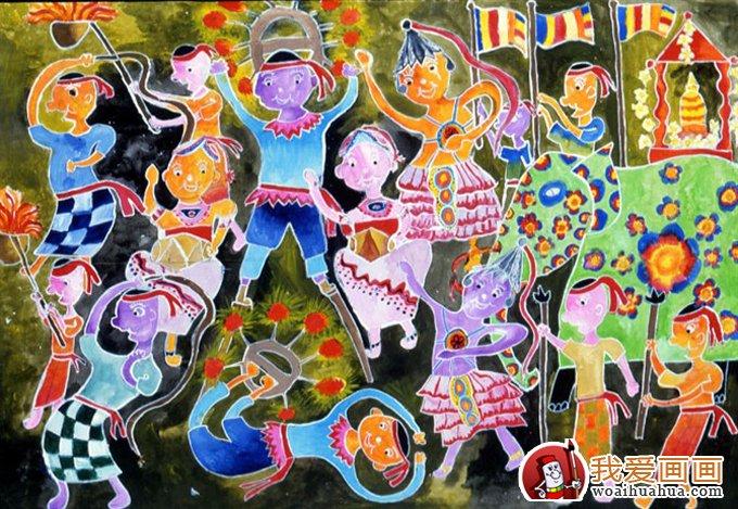 儿童画国际获奖(金奖)优秀作品图片展示(6)