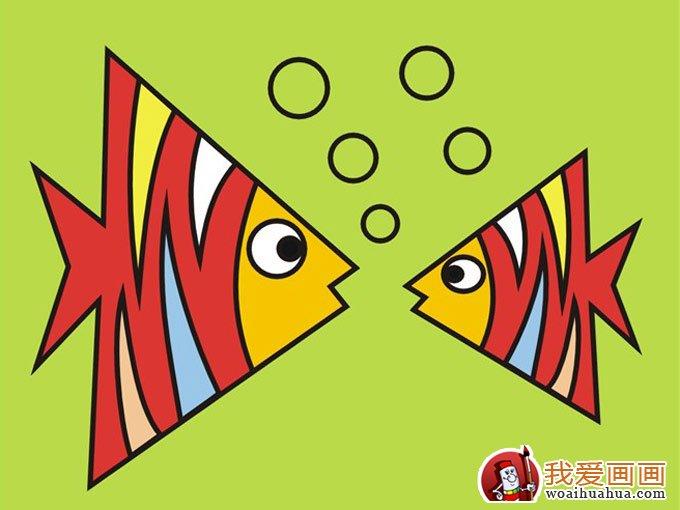 幼儿学习画画用色教学指导图文教案图片