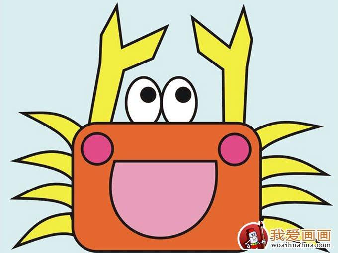 儿童画图片:螃蟹; 儿童画图片:螃蟹; 幼儿学画画的好处