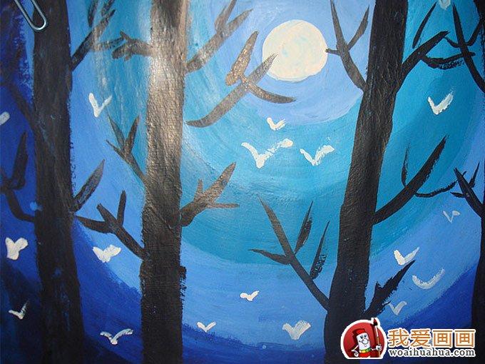 学画画 儿童画教程 儿童水粉画 > 少年儿童水粉画:儿童风景水粉画欣赏