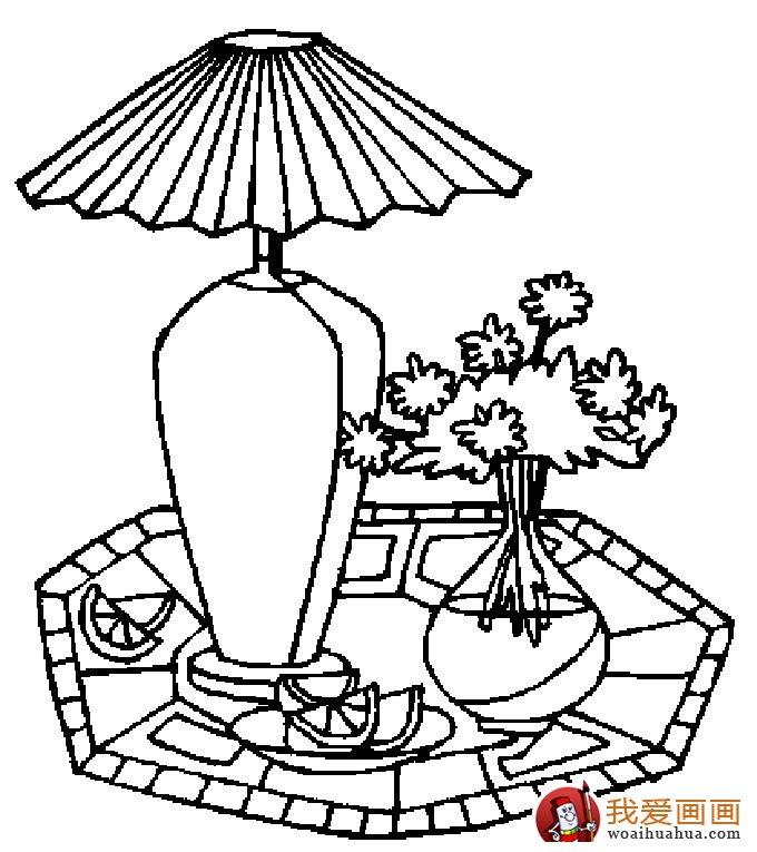 简笔画花卉大全,各种植物花儿简笔画图片26副(下)(6)