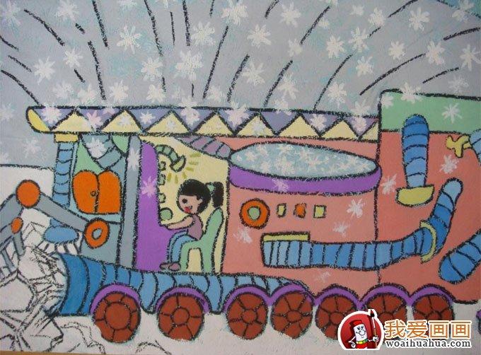 儿童画教程 科幻画 > 科学科技幻想画获奖作品:节能环保,低碳生活科幻