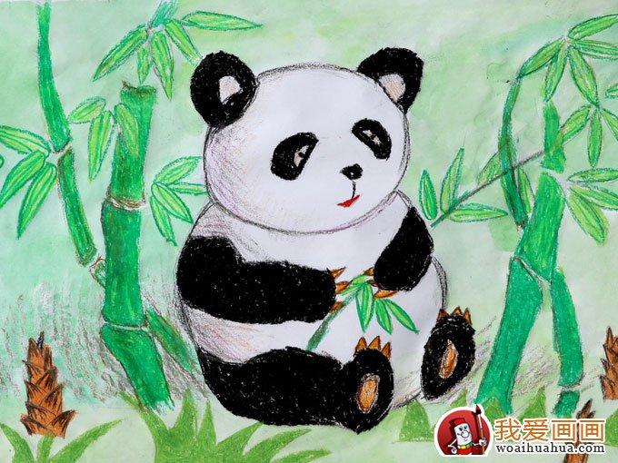 学画画 儿童画教程 儿童水彩画 > 熊猫的儿童画大全,儿童画熊猫图片欣