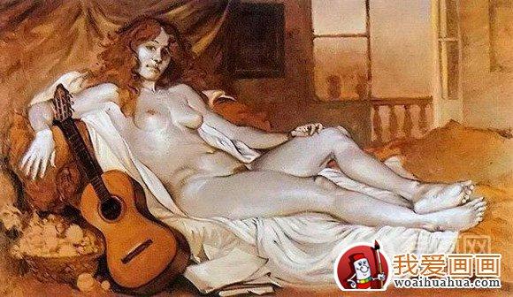 古典人物油画教程,欧洲女性人体画法步骤详解(4)