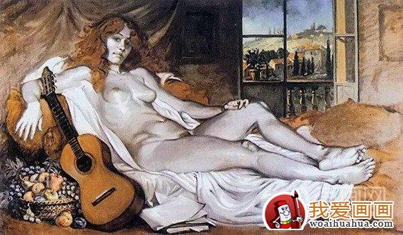 古典人物油画教程,欧洲女性人体画法步骤详解(5)