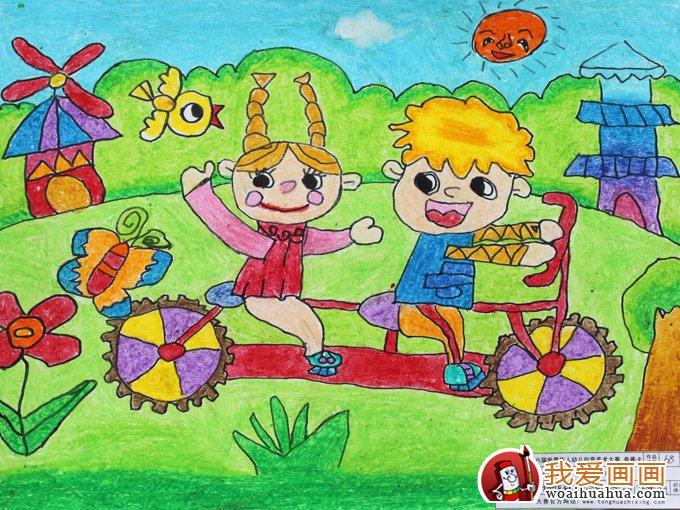 幼儿绘画作品图片,幼儿画画作品欣赏大图(3)