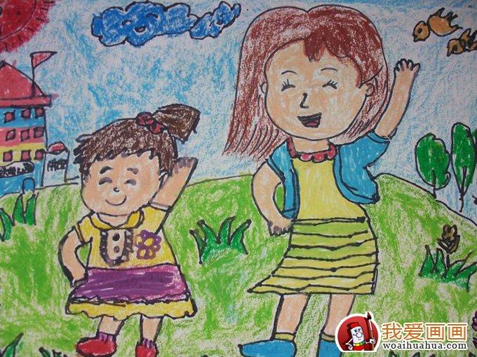 幼儿绘画作品图片,幼儿画画作品欣赏大图 10