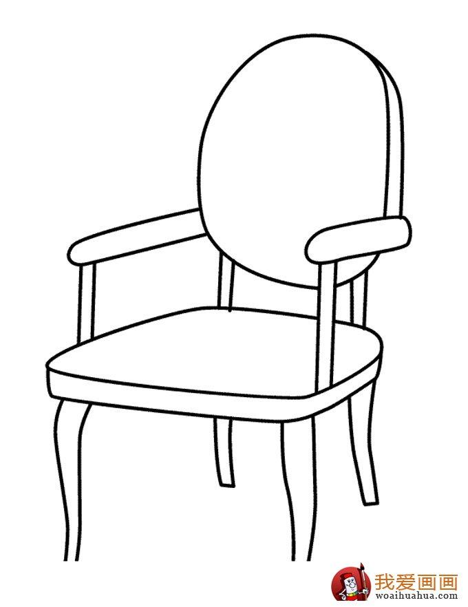家具 简笔画 手绘 线稿