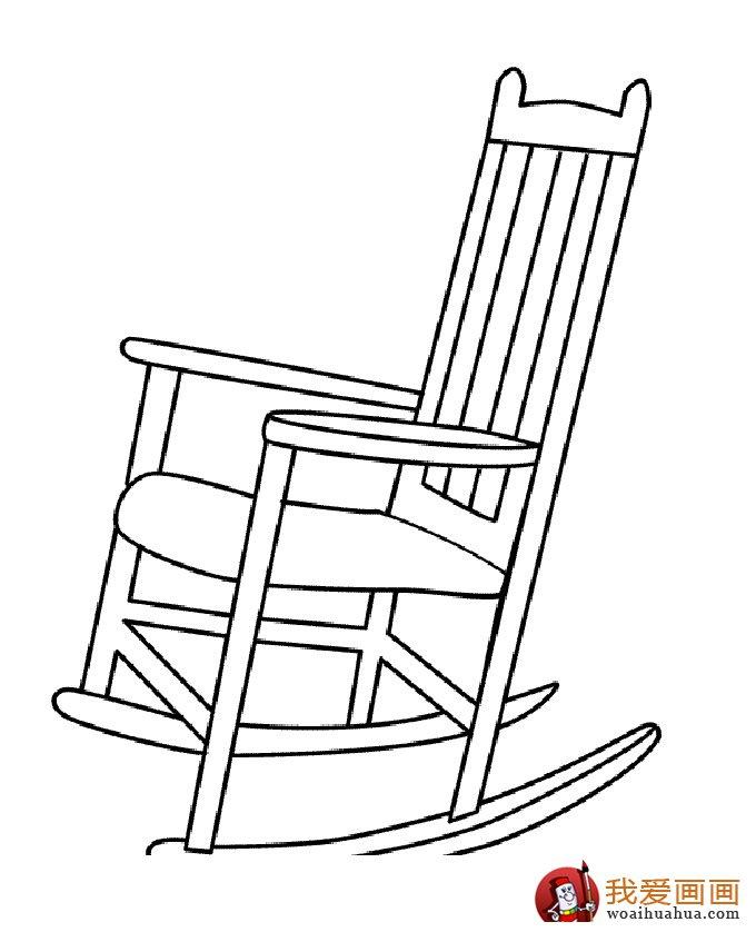 学画画 儿童画教程 简笔画 > 椅子简笔画,儿童简笔画椅子图片大全(4)