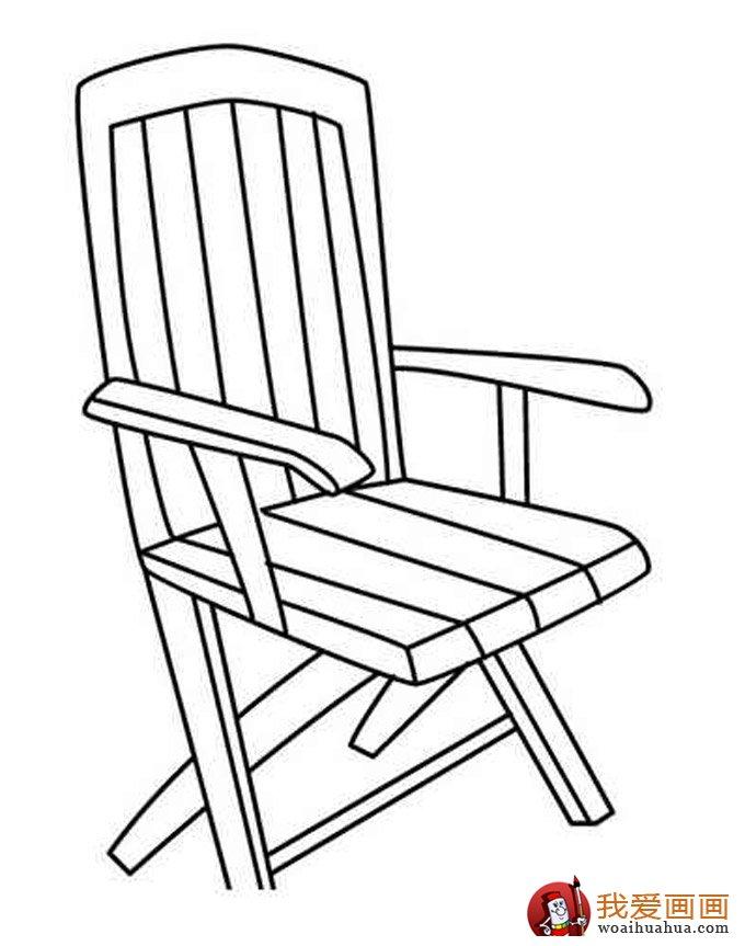 椅子简笔画,儿童简笔画椅子图片大全 5