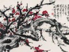 关山月作品,关山月国画梅花大全(一)