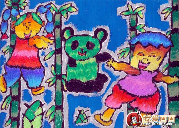 儿童版画教案之儿童版画制作过程 2