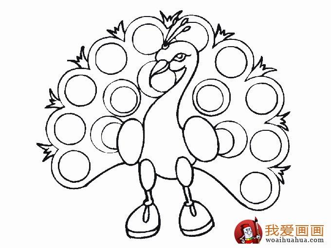 可爱简笔画欣赏:可爱的小动物简笔画(2)