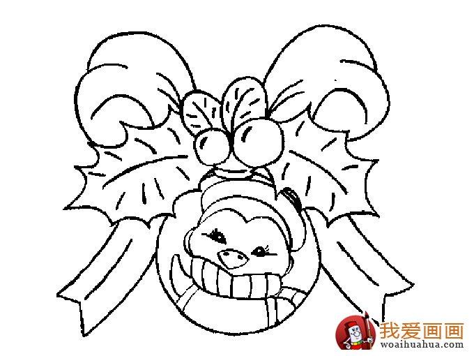 超级大糖果简笔画