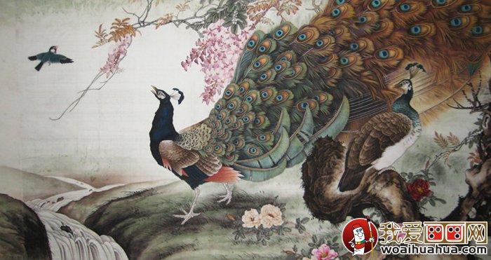 家居墙饰孔雀装饰画素材 高清孔雀装饰画图片大全