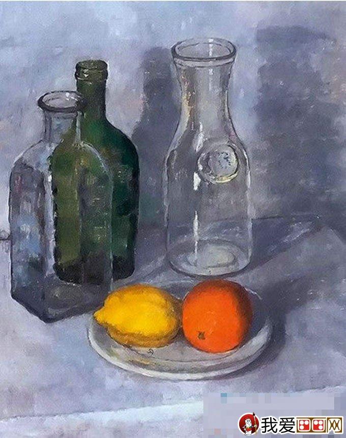 静物油画绘画时,该如何调整油画静物光源_油画教程_学