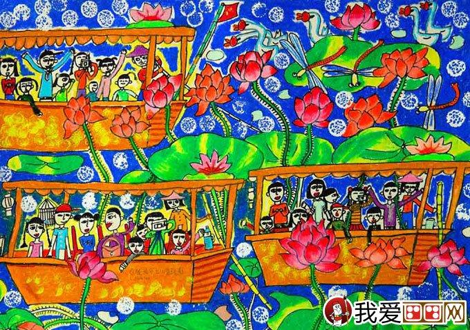 中学生绘画获奖作品欣赏,中学生绘画作品图片