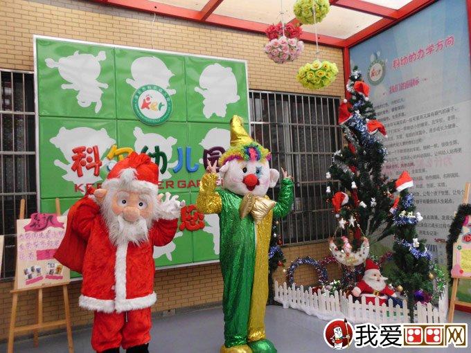 幼儿园圣诞布置方案:圣诞节幼儿园环境布置图