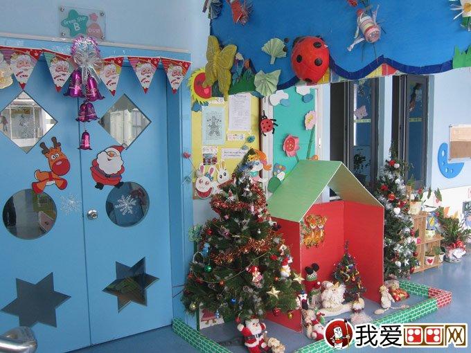 圣诞节环境布置_圣诞节幼儿园环境布置方案:庭院布置