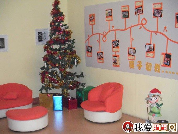 圣诞节环境布置_圣诞节幼儿园环境布置方案:教室背景墙布置