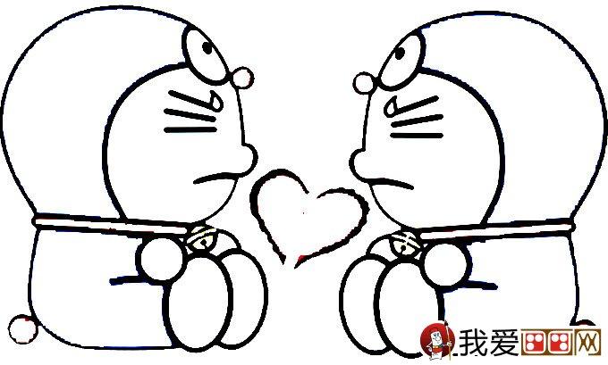 哆啦a梦 机器猫 简笔画32