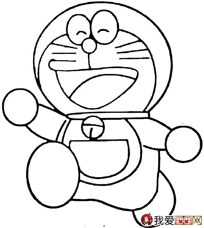 哆啦a梦之机器猫简笔画图片大全