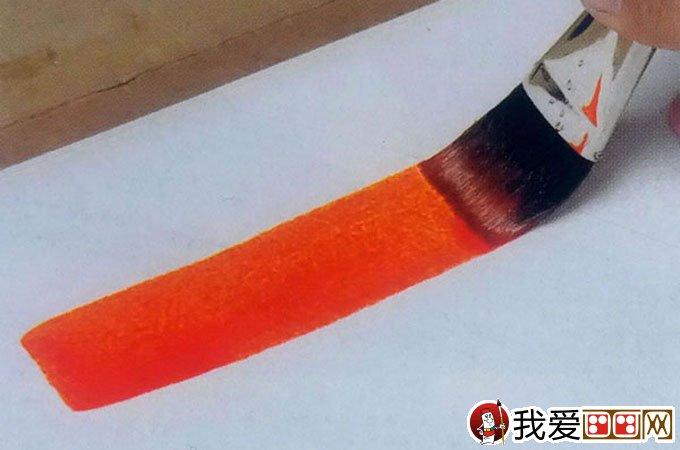 水彩画基本涂色技法:水彩画渐变法图文教程31