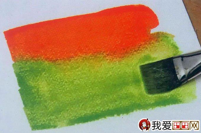 水彩画基本涂色技法:水彩画渐变法图文教程38