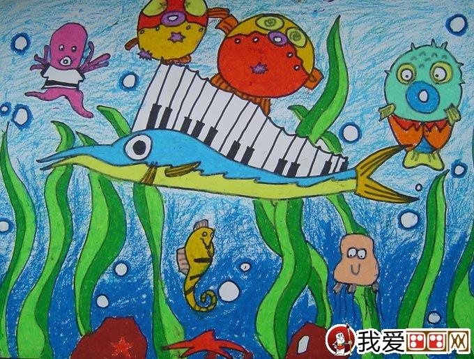 动物油画棒儿童画大全   油画棒是一种棒形画材,由颜料,油,蜡的特殊图片