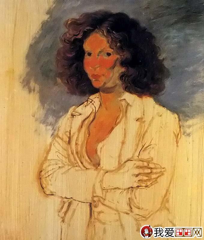 半身人物画油画绘画教程:鲁本斯油画技法绘画步骤(7)