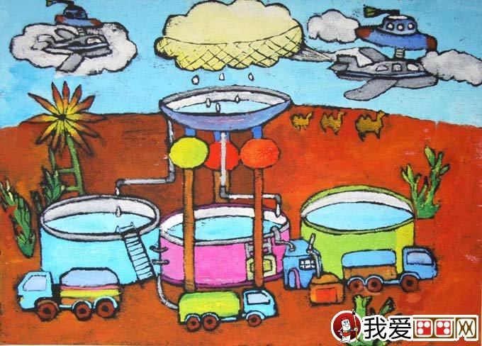 2009年上海市普陀区青少年科技创新赛科幻画