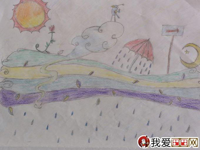 初二学生期末美术考试优秀绘画作品30副(14)图片