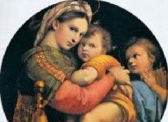 拉斐尔作品之圣母圣婴人物肖像画大全