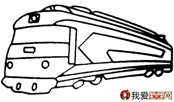 儿童简笔画火车 有关火车简笔画图片大全(3)