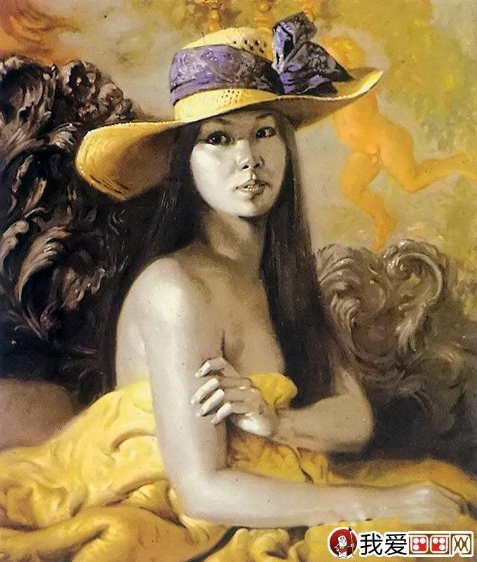 油画欧洲古典人物教程:维米尔技法女子半身像图文