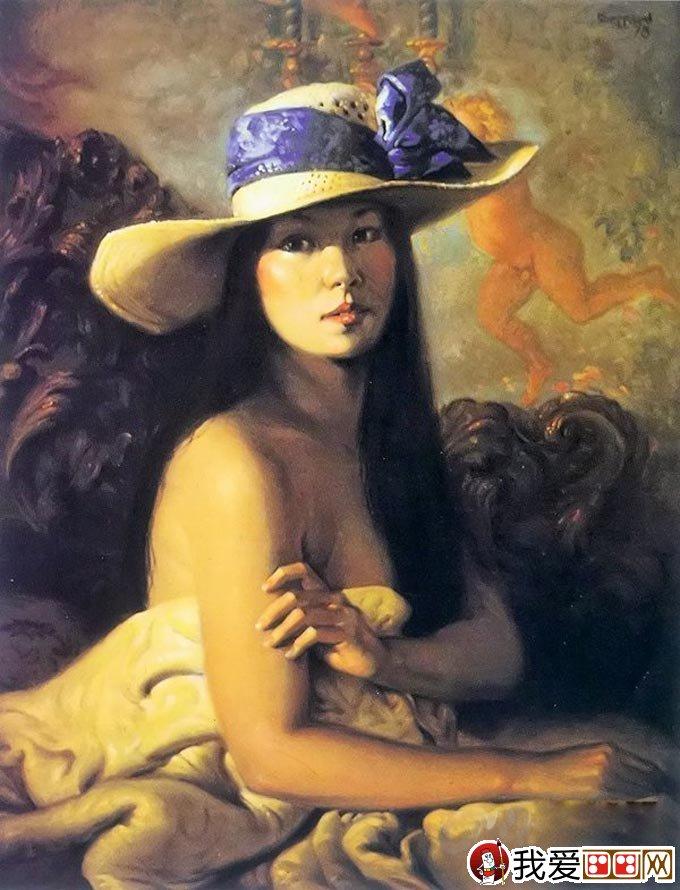 油画欧洲古典人物教程:维米尔技法女子半身像图文步骤