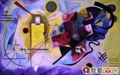 康定斯基作品 康定斯基抽象画作品赏析