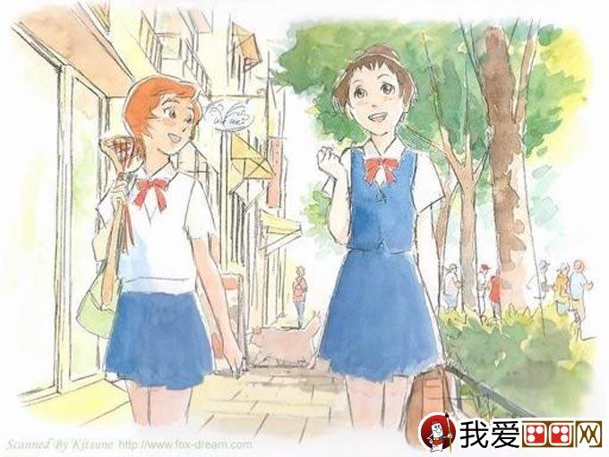 宫崎骏作品:宫崎骏动漫绘画手绘稿作品大全(一)(5)