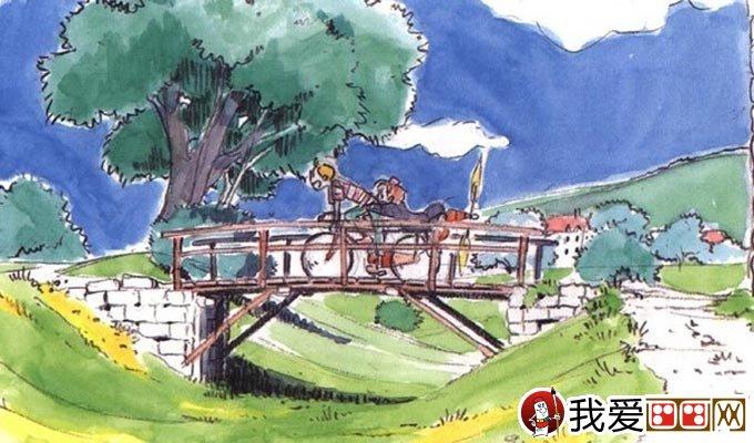 宫崎骏作品:宫崎骏动漫绘画手绘稿作品大全(一)(6)