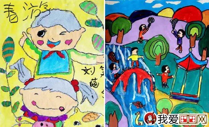 学画画 儿童画教程 儿童画欣赏