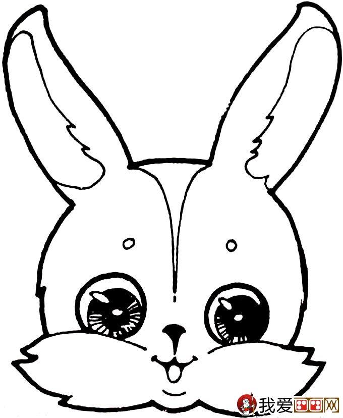 可爱的兔子简笔画图片大全(2)