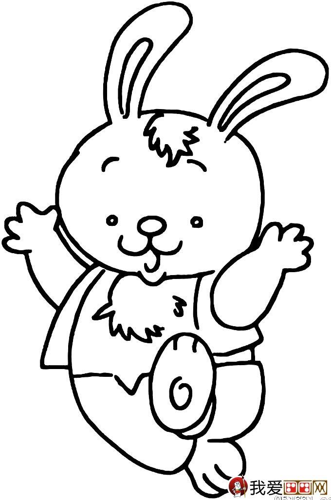 兔子简笔画图片13