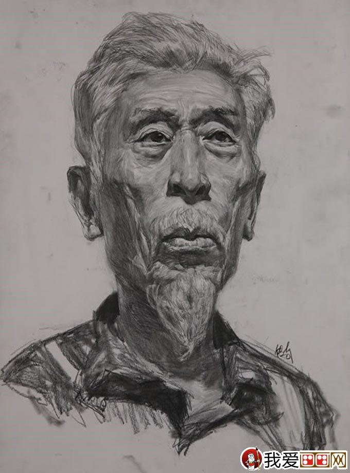 朱传奇素描头像作品大全(2)
