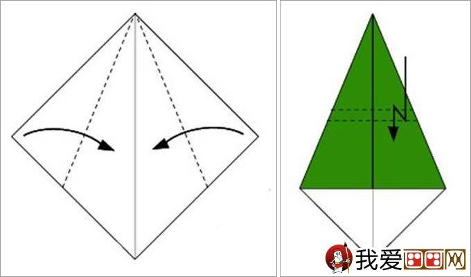 首页 我爱画画     圣诞树折纸教程一:圣诞树通常都是绿色的,所以我们