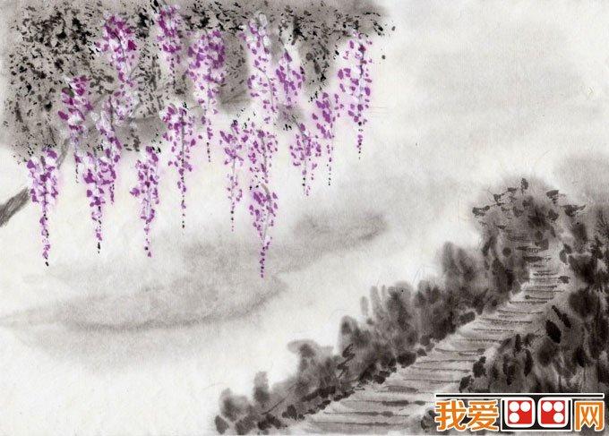 初学风景水墨山水画必看 简单的水墨山水画图片92副 2图片