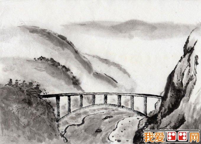 初学风景水墨山水画必看 简单的水墨山水画图片92副