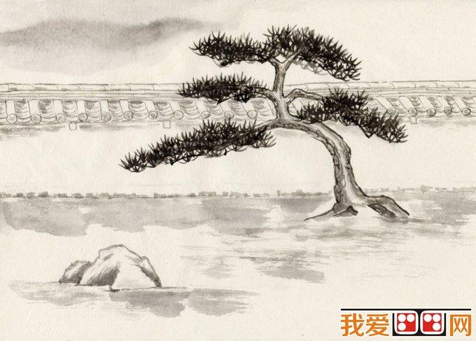 初学风景水墨山水画必看:简单的水墨山水画图片92副(8
